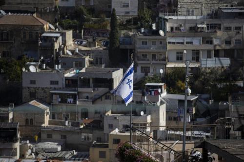 Bairro de Batan al-Hawa, em Silwan, Jerusalém Oriental ocupada, 11 de dezembro de 2020 [Mostafa Alkharouf/Agência Anadolu]