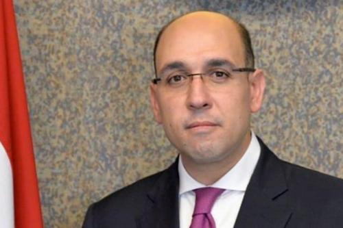 Porta-voz do Ministério das Relações Exteriores do Egito, Ahmed Hafez, 19 de julho de 2020 [AbdelnourSaimah / Twitter]