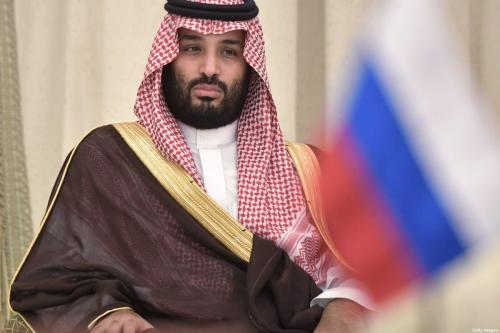 O príncipe herdeiro da Arábia Saudita, Mohammed Bin Salman, em Riade, Arábia Saudita, em 14 de outubro de 2019 [Alexey Nikolsky/ Sputnik/ AFP / Getty Images]