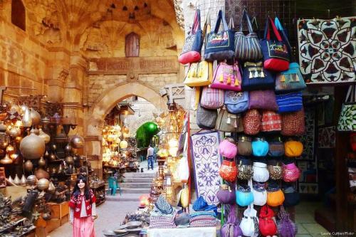 Comércio no Cairo, Egito, 4 de fevereiro de 2014 [Laura Cuttier/Flickr]