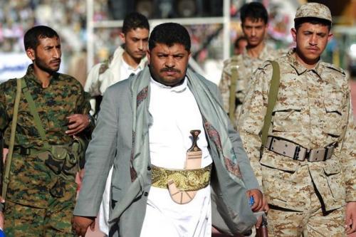 Mohammed Ali al-Houthi, líder dos chamados Comitês Revolucionários do Iêmen, em 6 de junho de 2017 [Wikipedia]