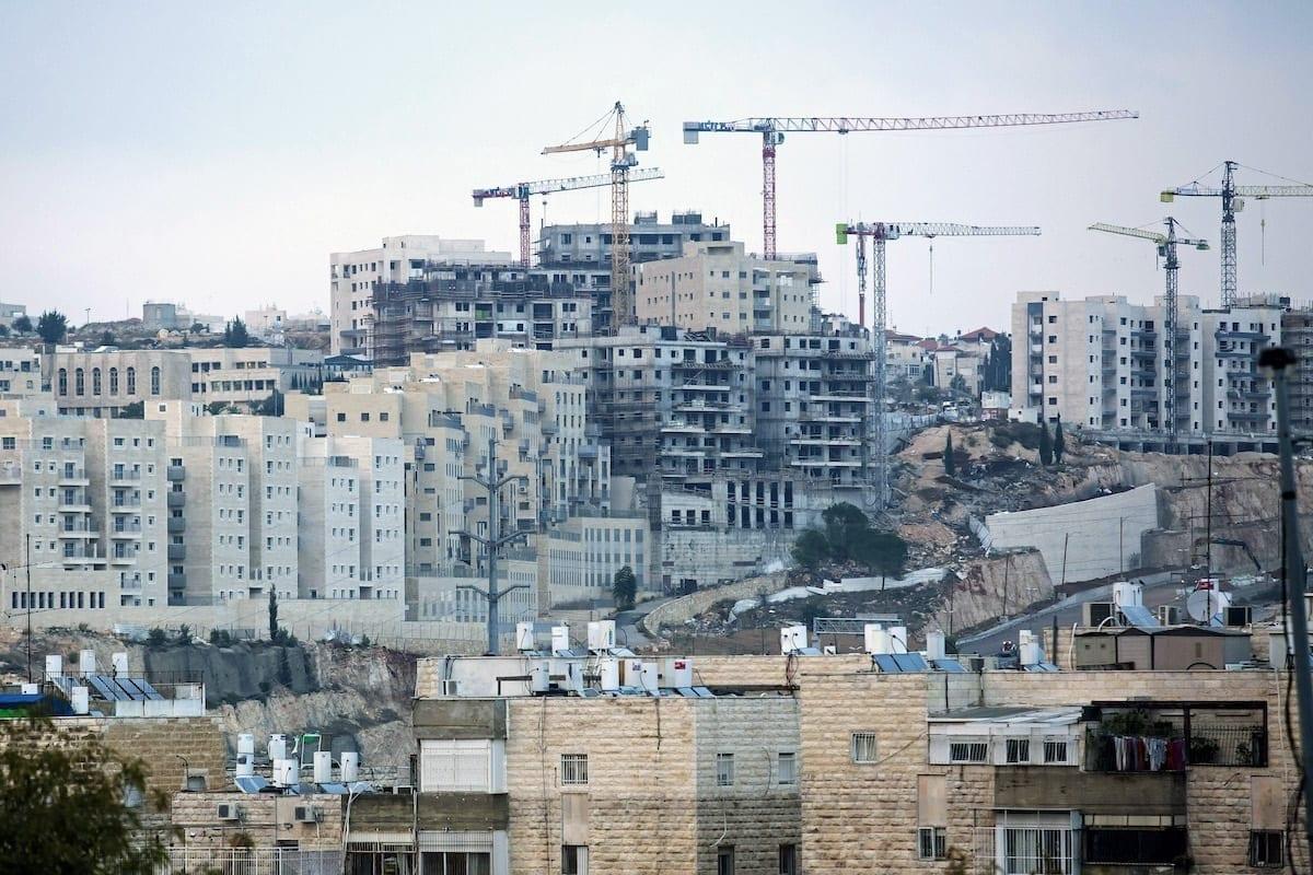 Assentamento ilegal em Jerusalém, 16 de novembro de 2020 [Amir Levy/Getty Images]