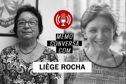 Liegé Rocha e Rita Freire