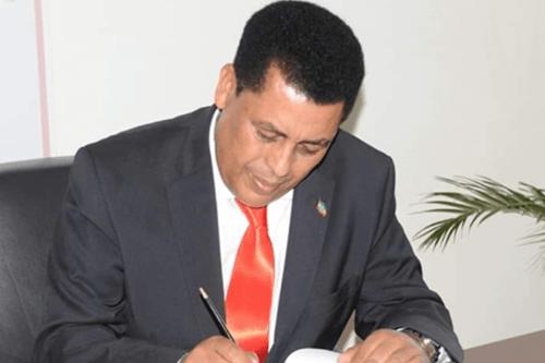 Embaixador Dina Mufti. [MFAEthiopia/Facebook]