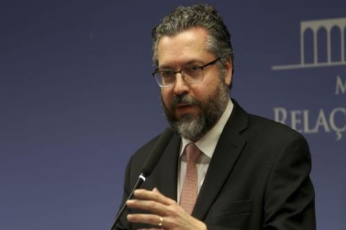 Ministro das Relações Exteriores, Ernesto Araújo. Foto: Agência Brasil