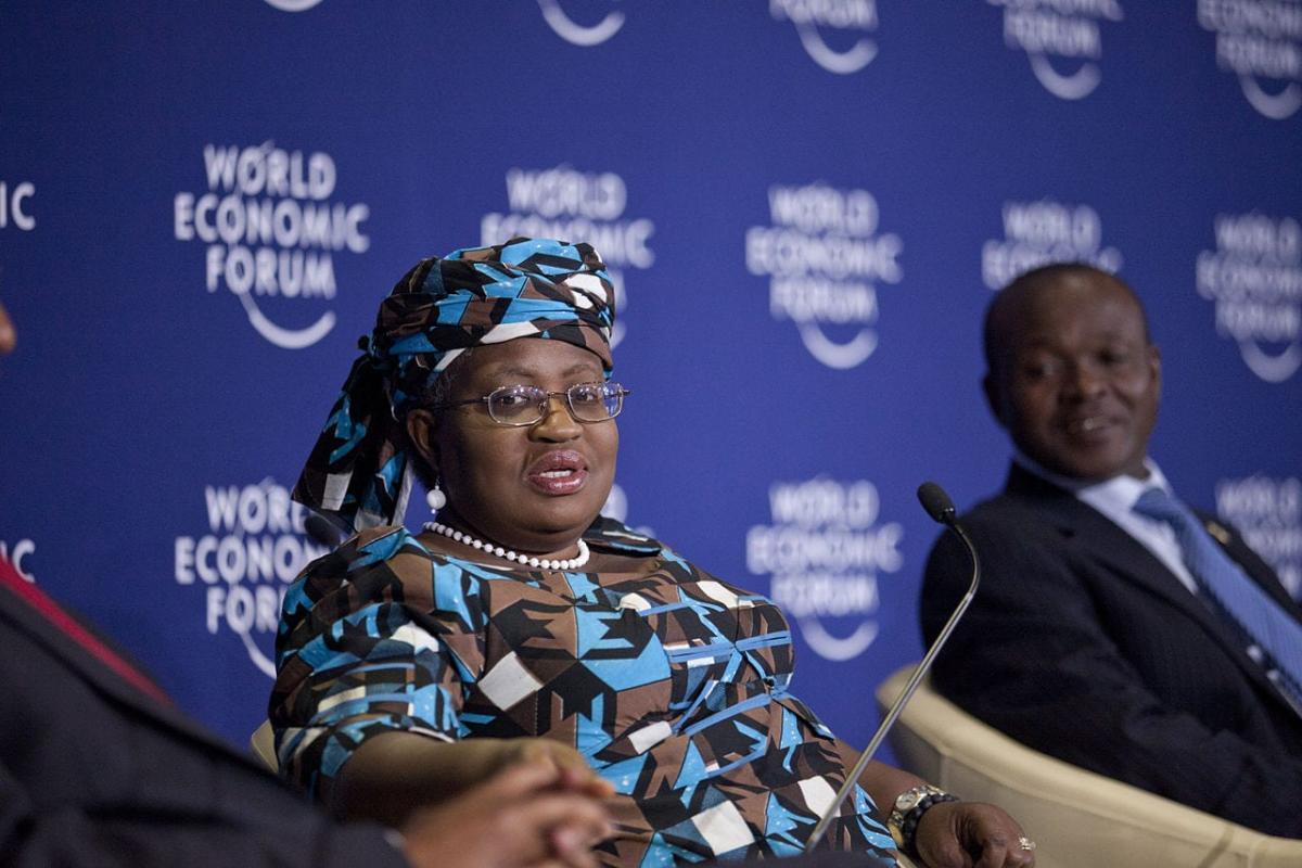 Ngozi Okonjo-Iweala - [Foto: commons.wikimedia - Fórum Econômico Mundial na África 2012