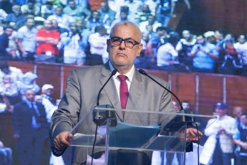 O ex-primeiro-ministro marroquino Abdelilah Benkirane, no Marrocos, em 25 de setembro de 2016. [Jalal Morchidi/Anadolu Agency]
