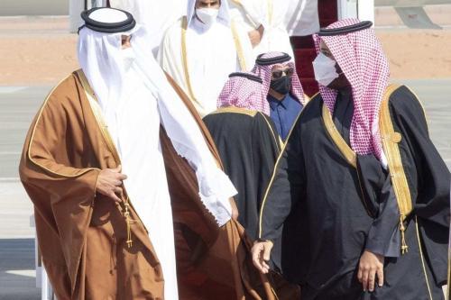O fim da disputa do Golfo. [Sabaaneh/Monitor do Oriente Médio]