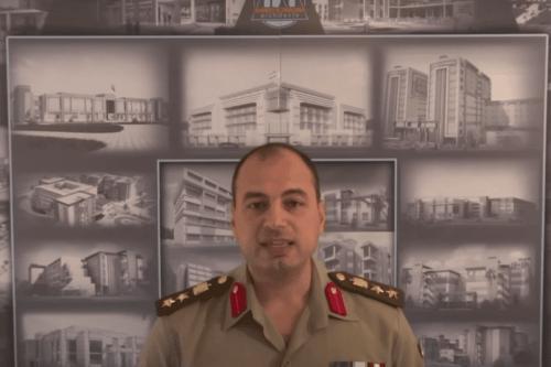 Coronel Ahmed Konsowa [Youtube/Ahmed Konsowa]