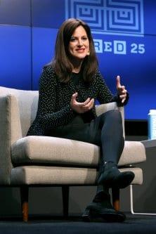 Anne Neuberger discursa durante a Cúpula WIRED 25, em San Francisco, Califórnia, 8 de novembro de 2019 [Phillip Faraone/Getty Images]