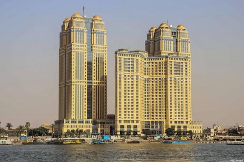 Hotel cinco-estrelas Fairmont Cidade do Nilo, cenário de um caso brutal de estupro coletivo, no Cairo, capital do Egito, em 30 de julho de 2020 [Samer Abdallah/AFP via Getty Images]
