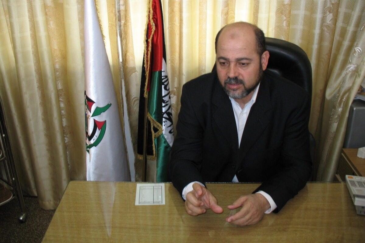 Mousa Abu Marzouk, membro do Gabinete Político do Hamas [Wikipedia]
