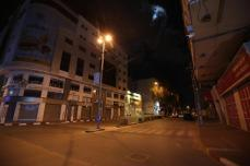 Gaza introduz toque de recolher noturno contra o coronavírus, em 27 de março de 2021 [Mohammed Asad/Monitor do Oriente Médio]
