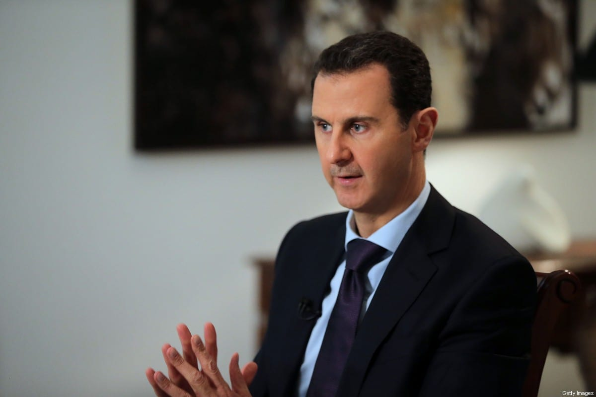 Presidente sírio Bashar Al-Assad em Damasco, Síria em 11 de fevereiro de 2016 [Joseph Eid/ AFP/ Getty Images]