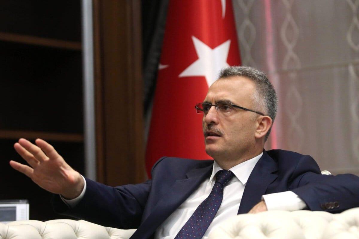Naci Agbal, ex-ministro das finanças da Turquia, em Ancara, 28 de julho de 2016 [Bloomberg/Gettyimages]