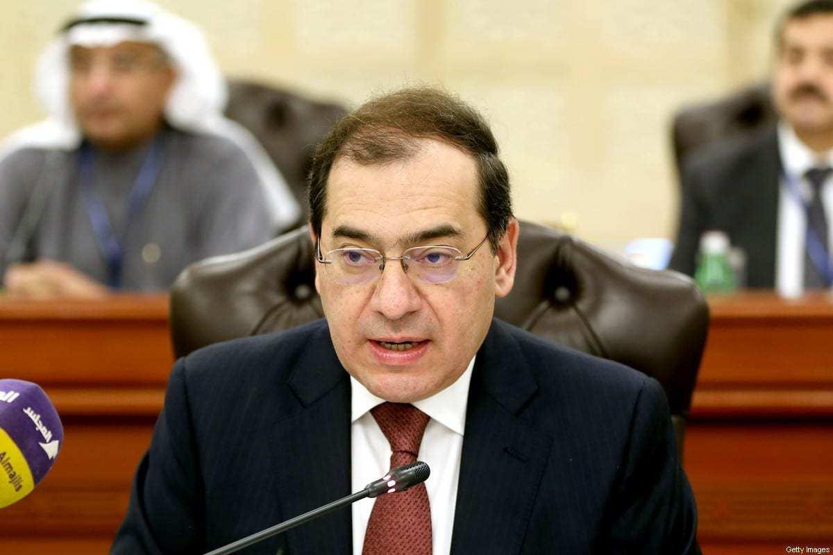 Ministro do Petróleo e Recursos Minerais do Egito Tarek el-Molla, na Cidade do Kuwait, 10 de dezembro de 2017 [Yasser Al-Zayyat/AFP/Getty Images]