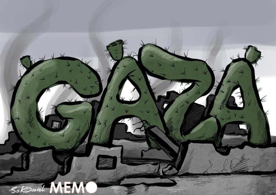 Pelo fim do cerca a Gaza [Sabaaneh/Monitor do Oriente Médio]