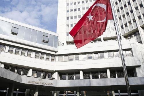 Ancara prioriza soberania, integridade territorial e unidade política dos países árabes, afirma o Ministério das Relações Exteriores da Turquia (agência Anadolu)