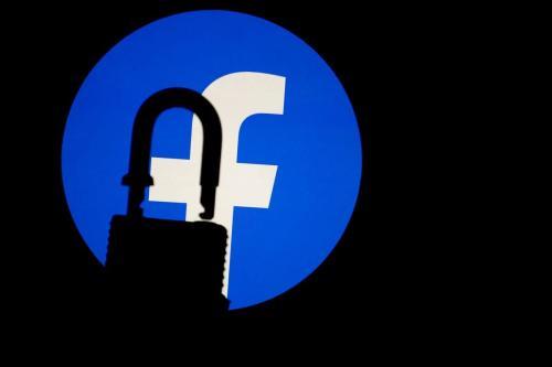 Logotipo do Facebook. [Mustafa Çiftçi/Agência Anadolu]