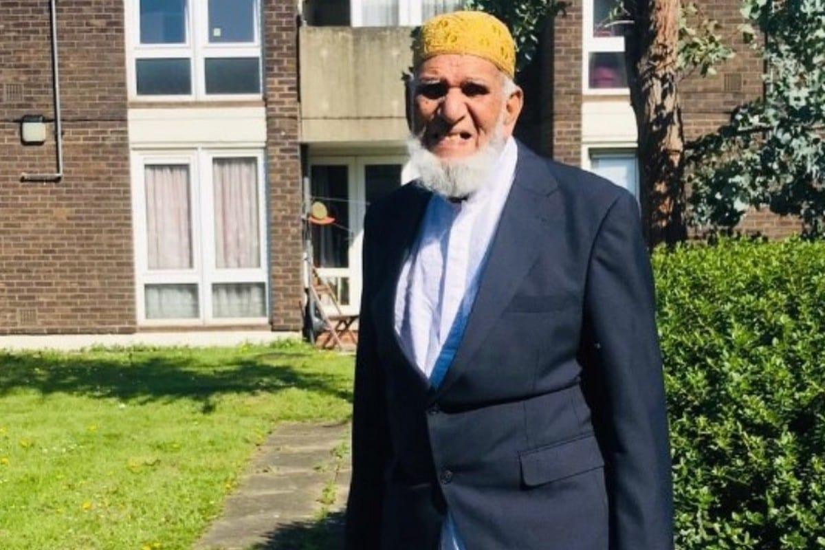 Dabirul Islam Choudhury, em 1 de maio de 2020 [Plataforma de doação Just Giving]