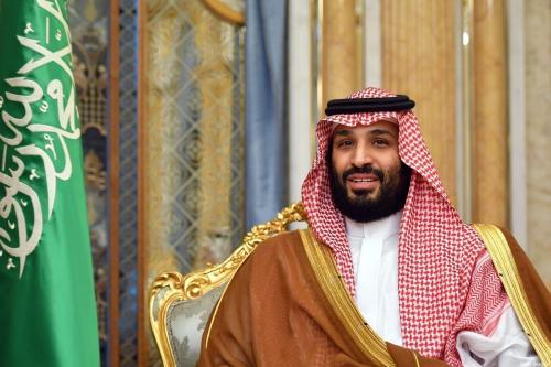 O príncipe herdeiro da Arábia Saudita Mohammed Bin Salman em Jeddah, Arábia Saudita, em 18 de setembro de 2019 [Mandel Ngan/ AFP / Getty Imagens]