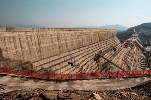 Grande Represa do Renascimento, Etiópia, dezembro de 2019 [Eduardo Soteras/AFP/Getty Images]
