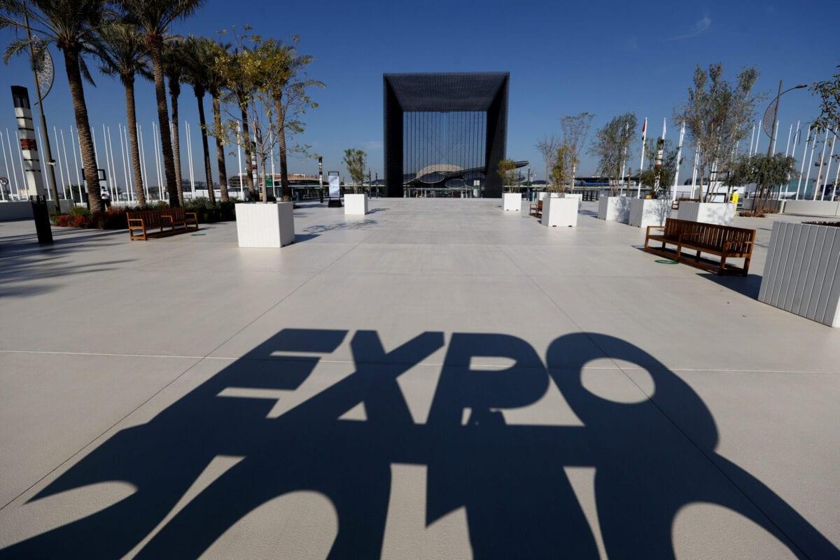 Uma visão geral do Pavilhão 'Terra', de Sustentabilidade na Expo 2020 Dubai em 03 de fevereiro de 2021 em Dubai, Emirados Árabes Unidos [Francois Nel / Getty Images]