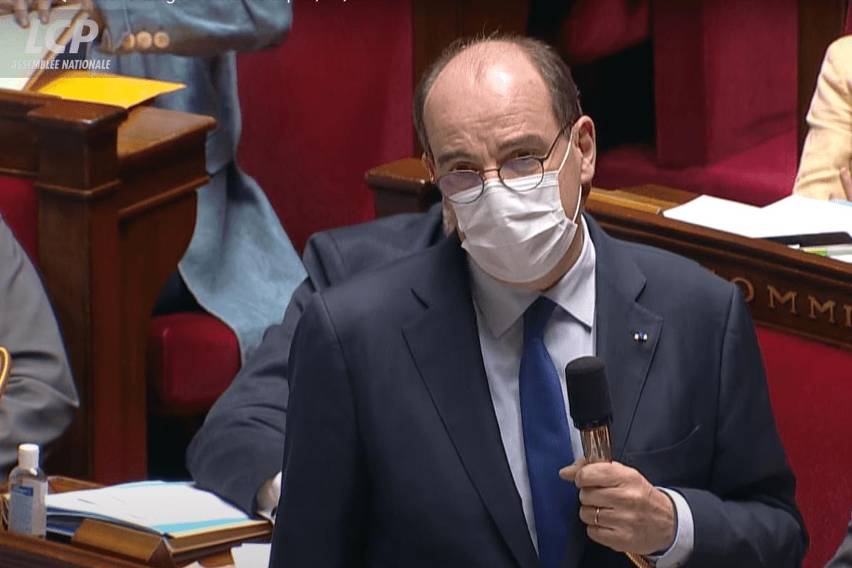 Discurso do primeiro-ministro da França, Jean Castex, no Parlamento, em 13 de abril de 2021, transmitido pelo canal LCP [Reprodução/Youtube]