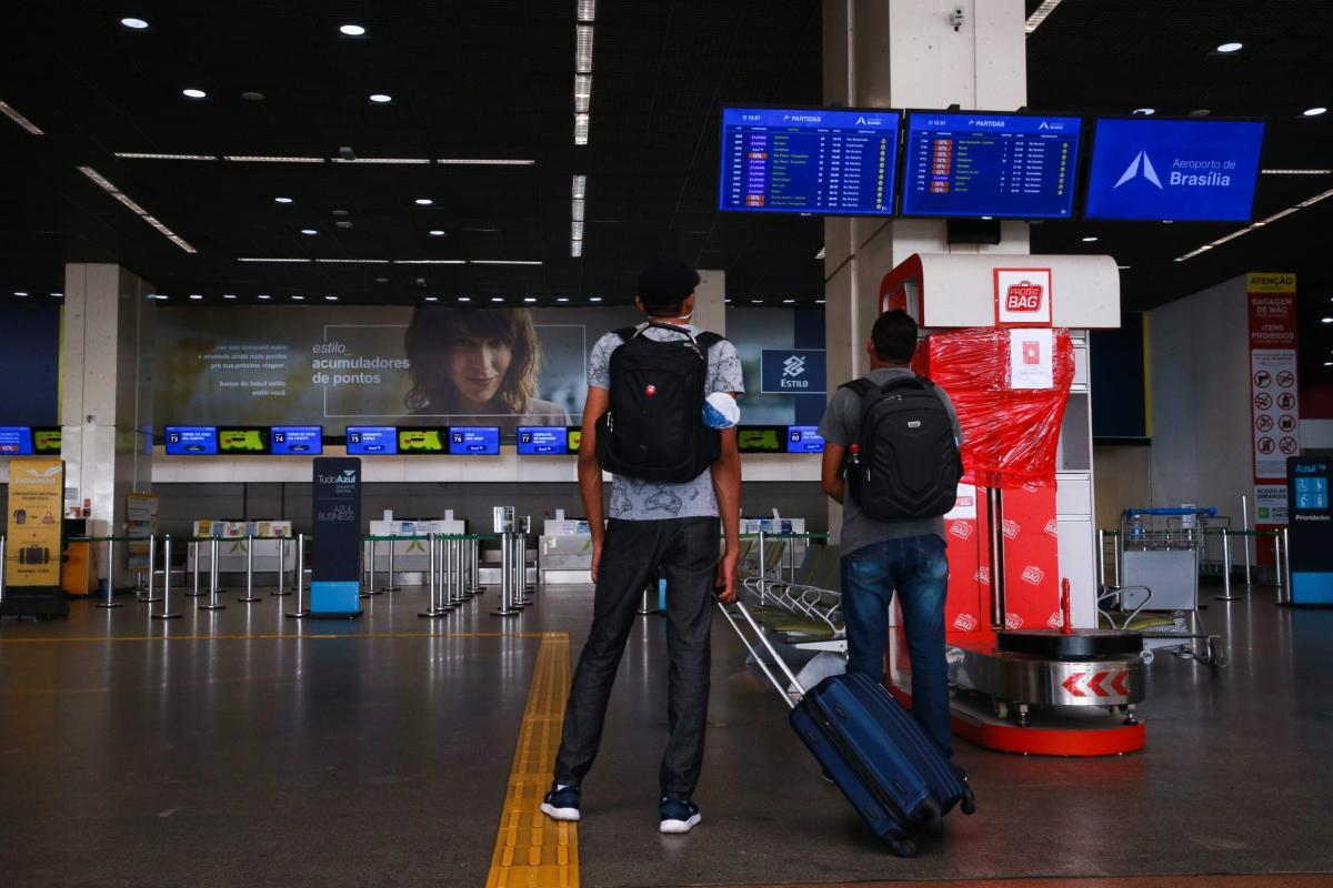 Aeroporto Internacional Juscelino Kubitschek, terceiro maior aeroporto do Brasil com pouca movimentação de passageiros [Foto: Marcello Casal Jr /Agência Brasil]