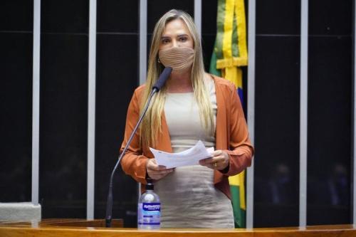 Celina Leão é a relatora da proposta [Pablo Valadares/Câmara dos Deputados]