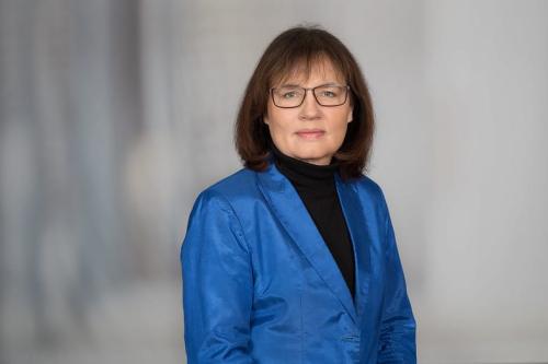 Editora chefe do DW, Manuela Kasper Claridge, em 12 de dezembro de 2018 [ DW/R. Oberhammer]