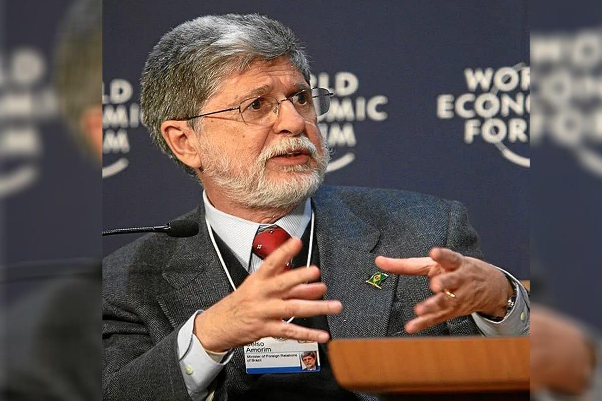 Celso Amorim, ex-chanceler brasileiro[wikimedia]