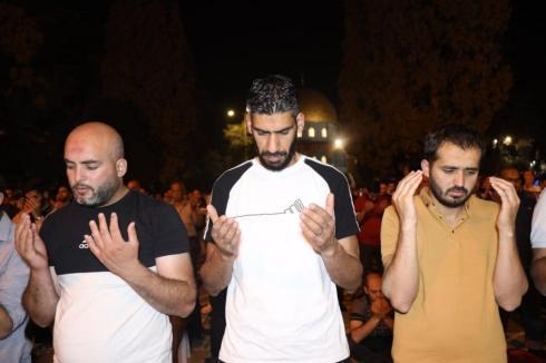 Fotojornalista palestino Mohammed Ateeq (dir.) [Mohammed Ateeq]