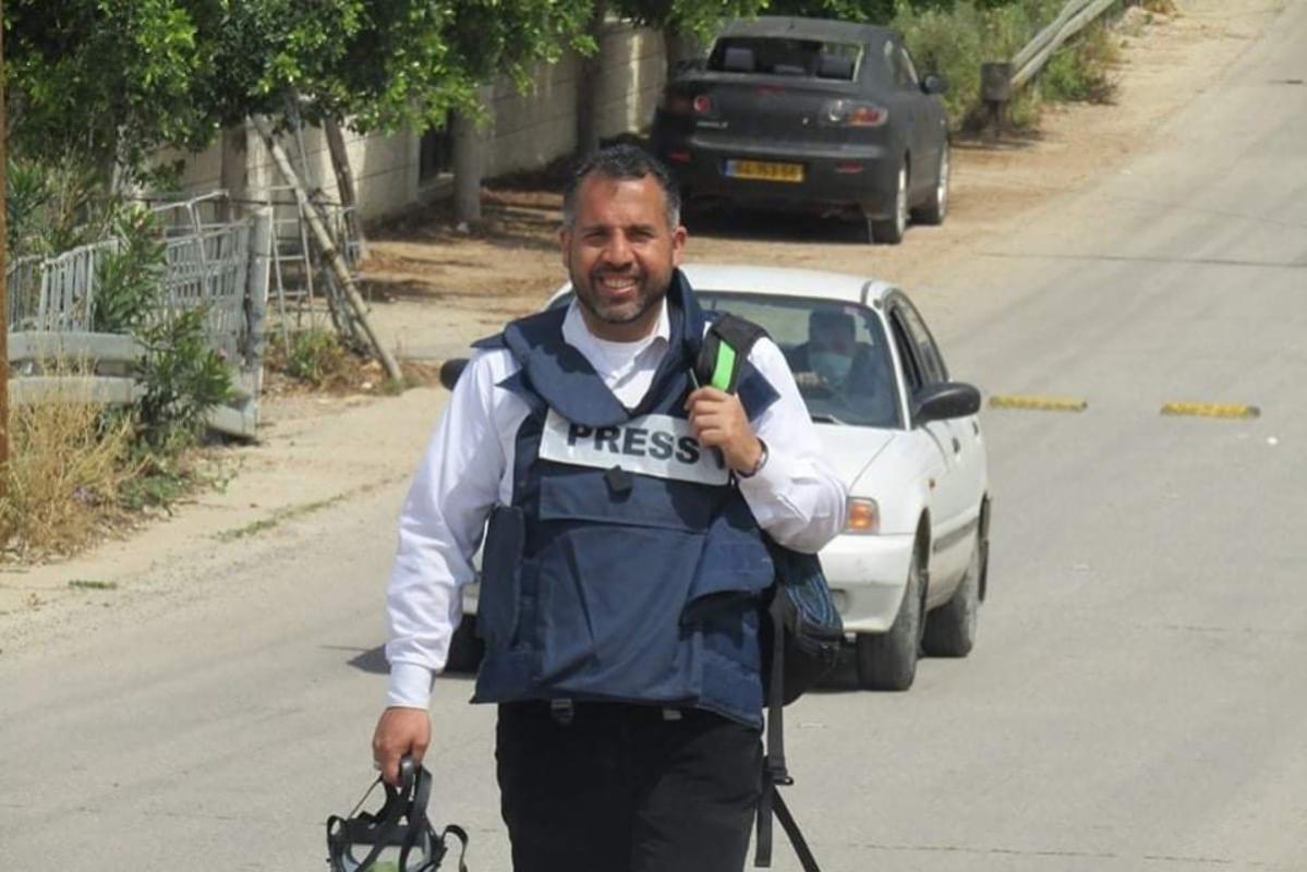 Jornalista palestino Alaa Al-Rimawi [ala2.remawi / Facebook]