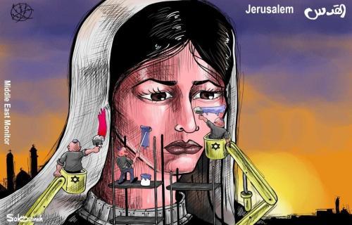 A colonização de Jerusalém [Sabaaneh/Monitor do Oriente Médio]