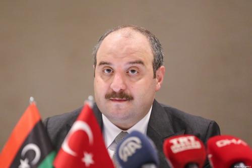 Ministro da Indústria e Tecnologia da Turquia, Mustafa Varank, em Istambul, Turquia, em 6 de setembro de 2020 [Esra Bilgin/Agência Anadolu]