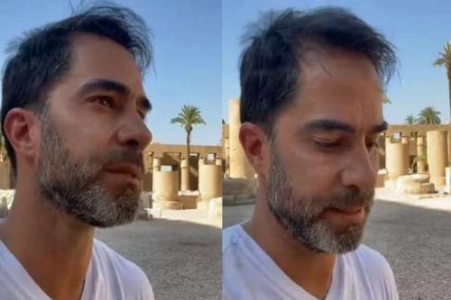 Médico Victor Sorrentino em vídeo após ser preso no Egito [Reprodução via jornal Estado de Minas]