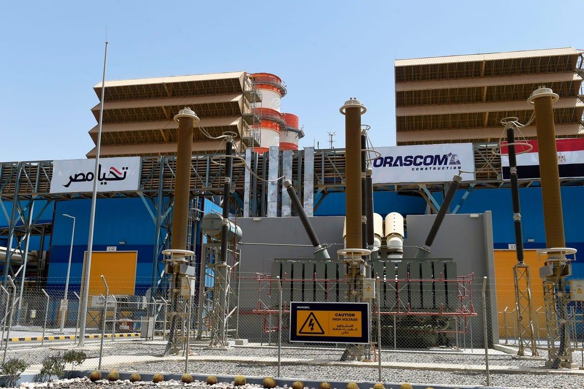 Estação de energia nos arredores do Cairo, Egito em 24 de julho de 2018 [Khaled Desouki/ AFP via Getty Images)