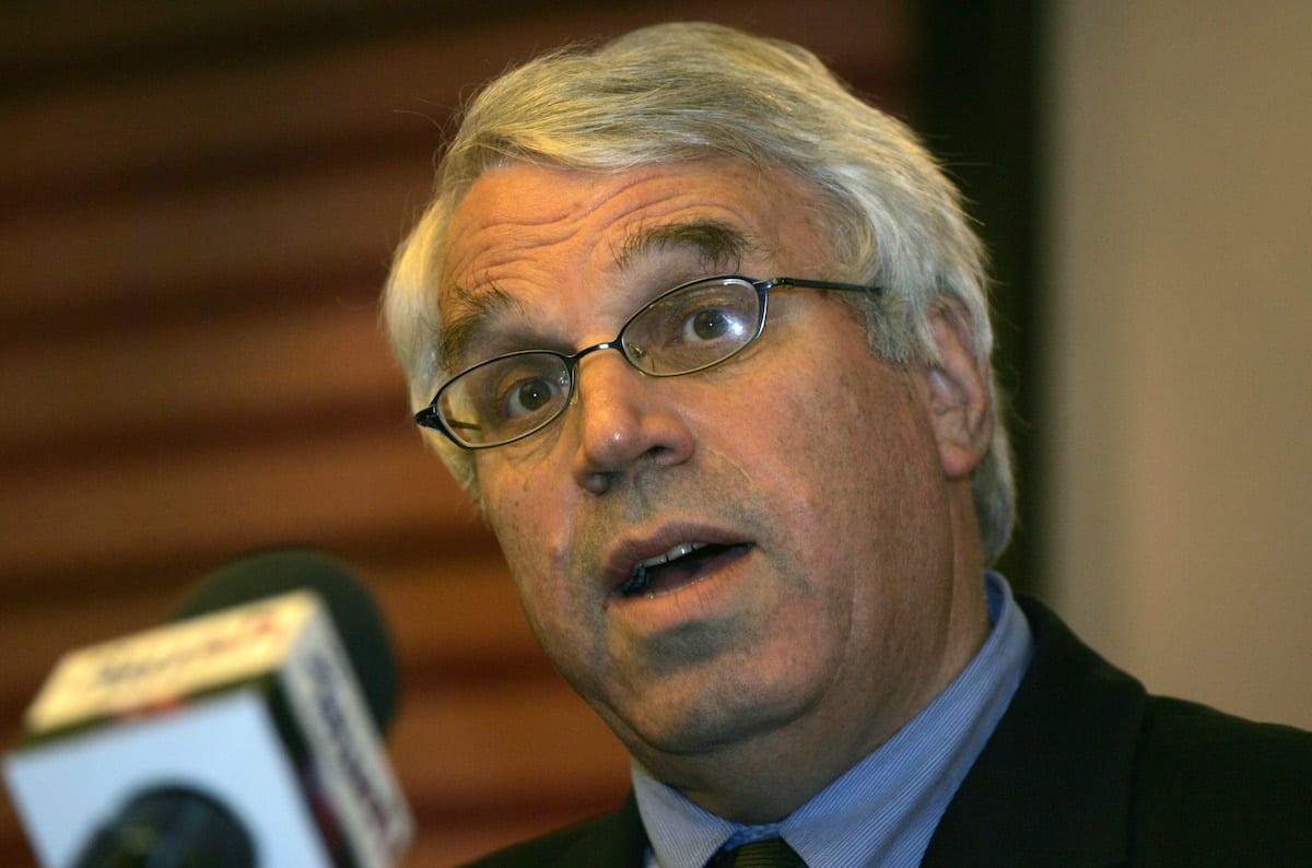 Alon Liel, ex-diretor-geral do Ministério das Relações Exteriores de Israel, em Jerusalém, em 12 de abril de 2007 [Menahem Kahana/AFP via Getty Images]