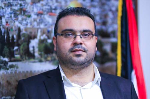 Hazim Qasem, porta-voz do Hamas [Hazemaq/Twitter]