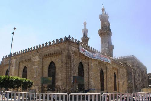 Universidade Al-Azhar no Cairo, Egito, em 1º de julho de 2011 [Daniel Mayer/Wikipedia]
