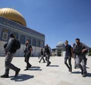 Israel continua a visar a Mesquita Al-Aqsa sob novo governo