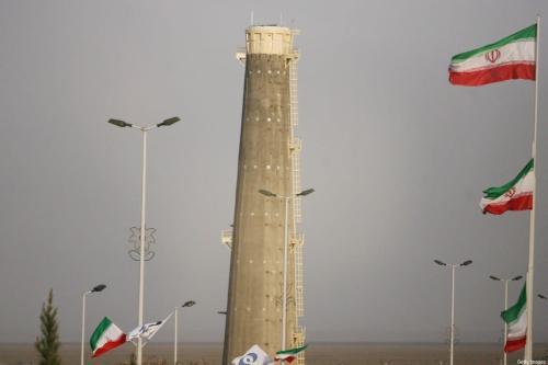 Instalação de enriquecimento nuclear de Natanz 180 milhas ao sul de Teerã, Irã. Em 9 de abril de 2007.[Majid Saeedi / Getty Images]