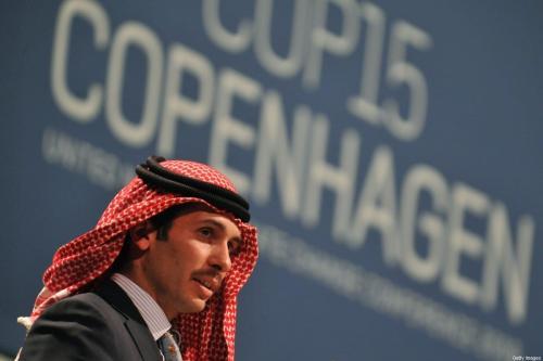 Jordan Prince Hamzah Bin Al Hussein em Copenhagen em 17 de dezembro de 2009 [AttolaKisbenedek/ AFP/ Getty Images]
