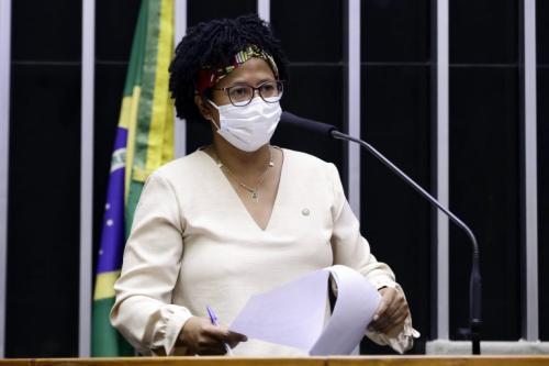 """Silvia Cristina, relatora do projeto, criticou o que chamou de """"veto à vida"""" Fonte: Agência Câmara de Notícias"""