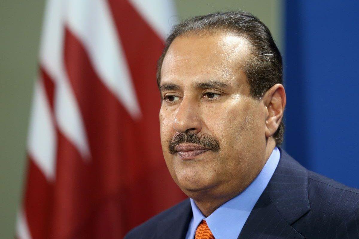 Hamad bin Jassim al-Thani, ex-premiê do Catar [Sean Gallup/Getty Images]