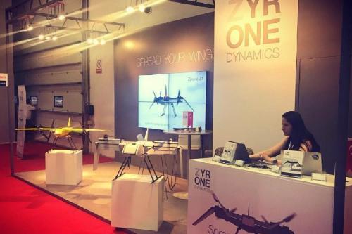 Zyrone Dynamics na Feira Internacional das Indústrias de Defesa [Zyrone Dynamics/Facebook]