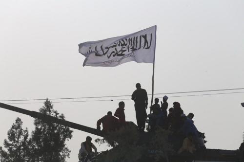 Palestinos protestam contra o bloqueio de Israel em Khan Yunis, Gaza em 25 de agosto de 2021 [Agência Mustafa Hassona / Anadolu]