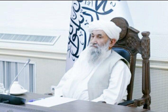 Novo primeiro-ministro do Afeganistão, Mullah Muhammad Hassan Akhund [@Zubairahmadkan/Twitter]