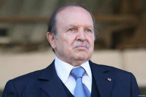 Ex-presidente Abdelaziz Bouteflika, 18 de janeiro de 2018 [Wikipedia]